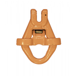 13mm G80 Clevis Skip Hook c/w Gated Catch 5.3 Tonne