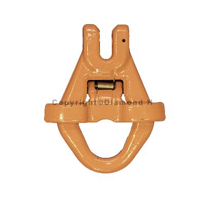 13mm G80 Clevis Skip Hook c/w Gated Catch 5.3 Tonne