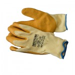 Heavy Duty Latex Gloves size 9/L (Sold in packs of 12 pairs)