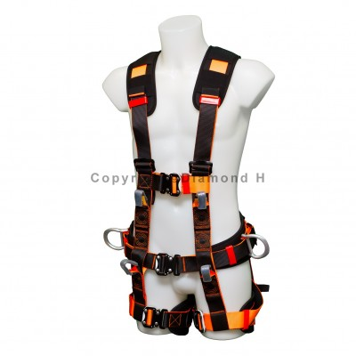 7 Point Luxury Full Body Safety Harness