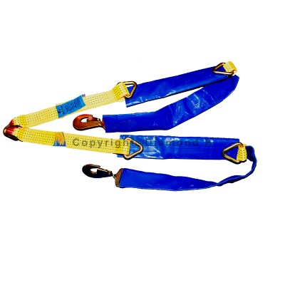 Recovery 1500mm V Brother Strap c/w Snap Hooks