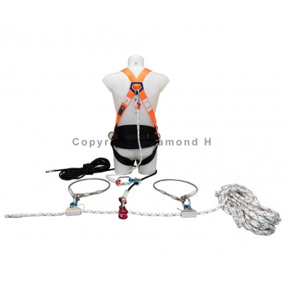 Edgepro 20Mtr Lifeline One Man Kit c/w 15mtr Restraint Line